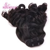 FunmiのカーリーヘアーのWeft 8A等級のバージンのブラジルのRemyの毛