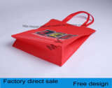 Colorer les sacs à provisions non-tissés d'impression multicolore, sacs de cadeau
