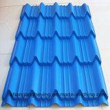 Acero revestido del soldado enrollado en el ejército de la hoja del material para techos del color de la alta calidad PPGI