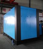 Double compresseur d'air de vis de rotor de refroidissement par eau