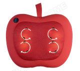 Eléctrico Apple Shape Cuello de Cuello y Espalda Shiatsu Massage Pillow