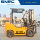 Preço Diesel material do Forklift da máquina de manipulação 1.5ton