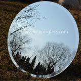 da composição chanfrada da mobília das bordas de 6mm espelho de prata lustrado Frameless redondo de /Wall