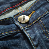 C315 Tecidos de algodão personalizados jeans jeans para homens