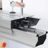 Coupe de bois à deux lames la précision machine table coulissante Scie à panneaux