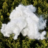 Os flocos do animal de estimação recicl a fibra de grampo de poliéster