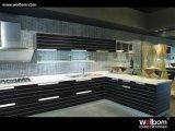 Gabinete de cozinha Welbom de madeira maciza