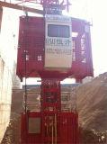 Het Hijstoestel van de bouw met Dubbele Kooien voor Verkoop door Hsjj