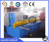 QC12K-12X2500 de ruptura do feixe de Giro Hidráulica CNC e máquina de corte