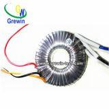transformador toroidal de la potencia de 24V 12V 100W