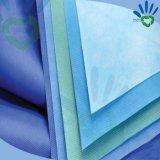 Устранимый Nonwoven ткани SMMS Hospoital для хирургической простыни