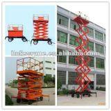 Plate-forme d'élévation hydraulique pour le nettoyage de levage de cargaison/guichet