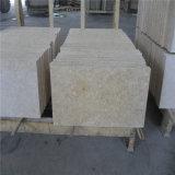 軽く明るいベージュ床タイルの大理石の価格