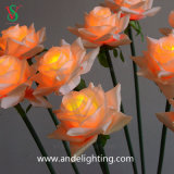 Lumières de fleur artificielle de DEL pour Noël