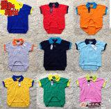 2014 Commerce de gros fashion T-shirt en coton d'enfants d'impression de vêtements pour enfants de broder Polo Shirt