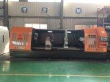 Экрана металла высокого качества Китая Lathe CNC полного горизонтальный для поворачивая вала верфи (CG61250)