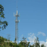마이크로파 안테나 직류 전기를 통한 각 강철 탑