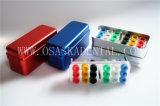 3개의 사용법이 내향 파일 살균 72를 위한 치과용 장비 Disfect 상자에 의하여 2개의 층 구멍을 판다