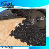 Anti Staic de alta qualidade do tapete de borracha do piso de Fitness