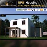 Bonne villa préfabriquée d'isolation thermique avec le plan de développement