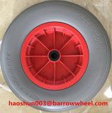 400-8一輪車のための平らで自由なPUの泡の車輪