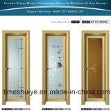 Aluminiumlegierung-Schwingen-Tür-Badezimmer-Tür-Toiletten-Tür eingehängte Tür