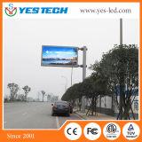Im Freien farbenreicher örtlich festgelegter Verkehr LED-Bildschirm