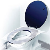 Flushable Seat Cover Toilet, Higiene Pública para WC Uso
