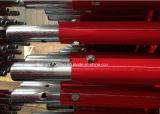 2.0m 빨강 마개를 가진 분말에 의하여 입히는 Ringlock 비계 표준 수직 포스트