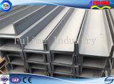 """Scanalatura a """"u"""" galvanizzata/saldata/fabbricata/Ssw-UC-002 dell'acciaio per costruzioni edili)"""