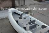ガラス繊維の膨脹可能なボートのためのLiya 7.5mの中央コンソールのボートの運行ライト