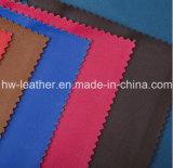 Plutônio elástico Hw-847 de couro do vestuário