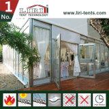 Tente extérieure de blanc de PVC de noce ignifuge imperméable à l'eau de toit