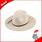 서류상 밀짚 모자 중절모 밀짚 일요일 파나마 넓은 테두리 모자