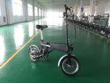 2017 Design italiano dobrável de 14 polegadas/bateria elétrica portátil Bike