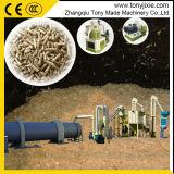 Les déchets de bois de riz Recling Husk usine de bouletage ligne complète