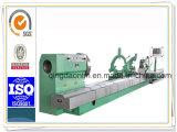 Tornio orizzontale resistente di CNC per il giro dei cilindri del laminatoio da 5000 millimetri (CG61100)