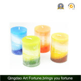 Aroma Layed Handmade Candle for Decoration Fabricante