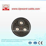 3 Kern-Aluminiumlegierung-Energien-elektrisches Kabel