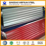 Color de Sgch/Cgch u hoja de acero/placa acanaladas galvanizadas