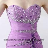 Свет женщин - пурпуровое безрукавный сексуальное платье выпускного вечера партии вечера