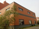 Panneau métallique gravé en relief d'isolation thermique pour les Chambres préfabriquées de structure métallique, constructions, villas