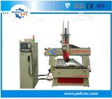 Neue 4 Mittellinie CNC-Gravierfräsmaschine für Holzbearbeitung-Marke USB-Kanal 1325