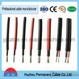 Câble solaire de l'homologation 2.5mm2 4mm2 6mm2 picovolte d'UL du câble TUV