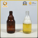 Mini bernsteinfarbige und freie Bier-Glasflaschen 330ml (078)