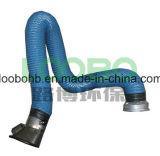 La vente directe d'usine ventilateur capot d'aspiration de fumée d'appui du bras, Loobo Extraction de fumée pour les fumées de soudure du bras de l'atelier d'échappement