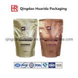 Sciampo su ordinazione di stampa, spremuta, sacchetti di plastica di Doypack del latte con il becco
