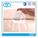 Guantes plásticos del PE del producto alimenticio