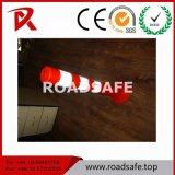 Poste flexible de dessinateur de ressort de poteau d'amarrage de circulation de sûreté de la garantie 75cm EVA