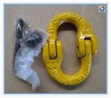 Гальванизированные серьги для подвески частей Twisted Clevis стальных запасных